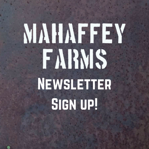 Sign Up! For weekly updates & reminders.